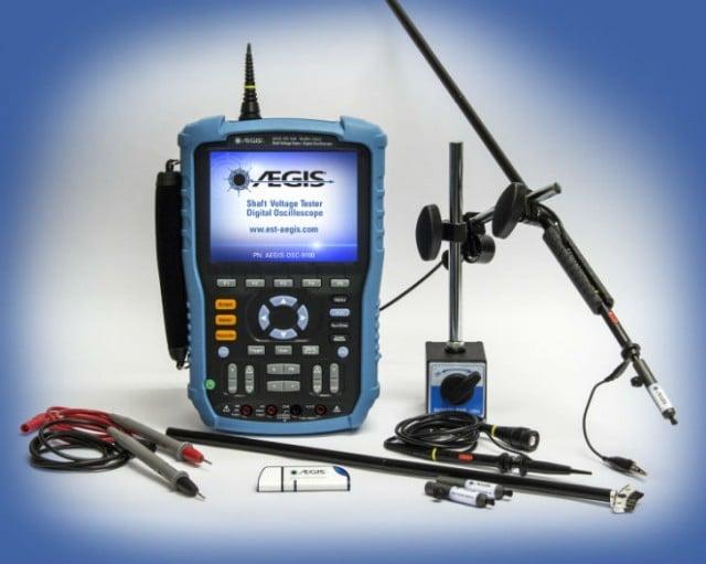 AEGIS Shaft Voltage Tester Digital Oscilloscope