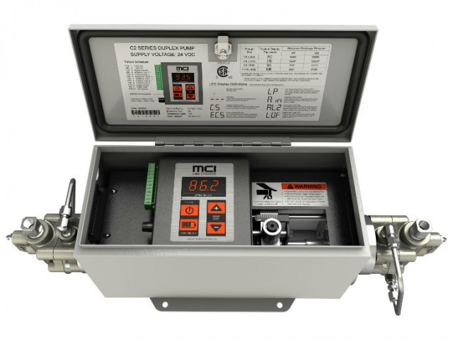 MCI Solutions introduces a new website and the new C2 dual headed chemical injection pump