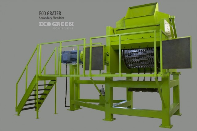 ECO Grater Series Secondary Tire Shredder