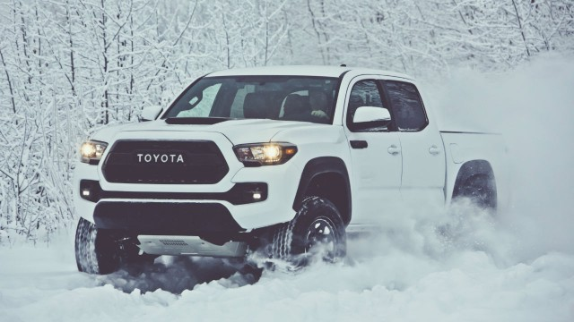 The new 2017 Tacoma TRD Pro will be available Fall 2016.