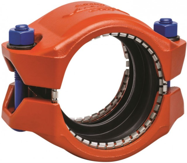 HDPE couplings like this meet or exceed specs for pressure, end pull load and other uses.