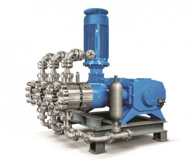 Diaphragm pumps have proven their operational safety and reliability in innumerable applications for the conveyance of fluids with most difficult physical and chemical properties.