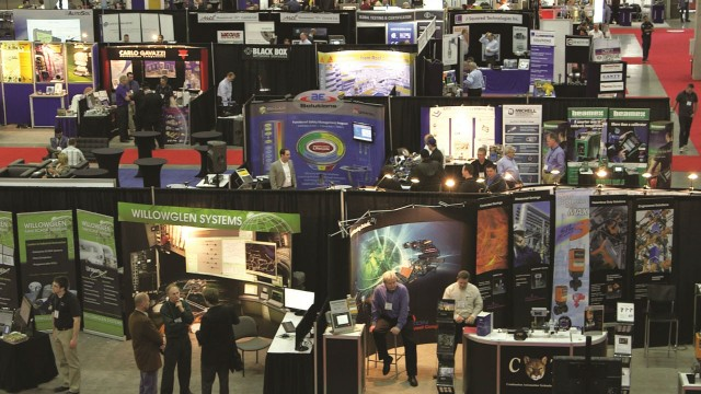A range of exhibitors and attendees will be in Edmonton for the 2016 AEC Alberta conference.