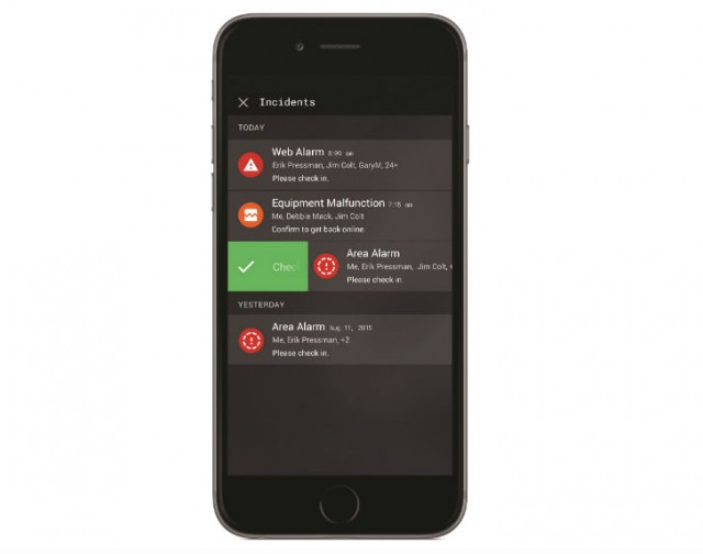 Automated and customized notifications can be sent to multiple users.
