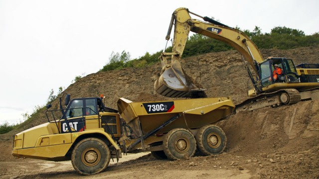 All three new Cat C2 Series articulated dump trucks feature full-time, six-wheel drive and are equipped with wet disc clutch locks in the cross axle and inter-axle differentials.