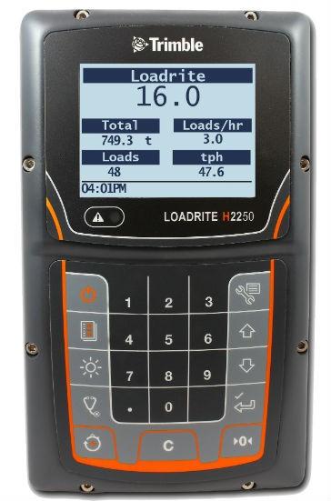 Trimble LOADRITE H2250 Haul Truck Monitor.