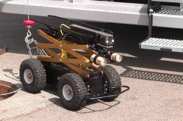 Steerable Storm Drain Tractor