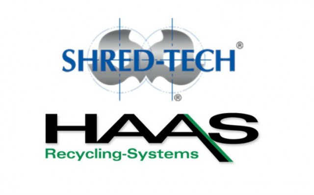 Shred-Tech new exclusive North American distributor of HAAS Recycling Equipment