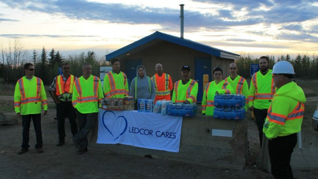 Over $50,000 was raised within the first 24 hours of the launch of Ledcor's Fort McMurray Wildfire corporate and employee campaign.