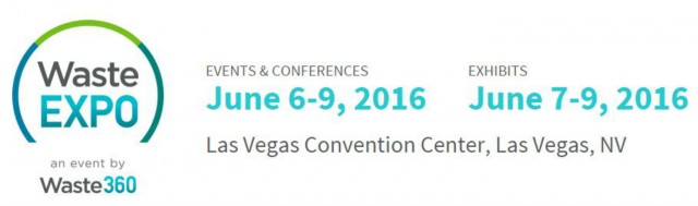 WasteExpo 2016 to feature 4th Annual Composting & Organics Recycling Conference and Food Recovery Forum