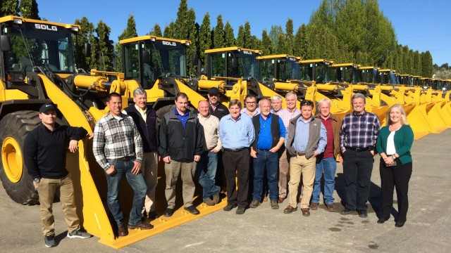 PacWest will sell SDLG wheel loaders and will become a new distribution center on the West Coast.