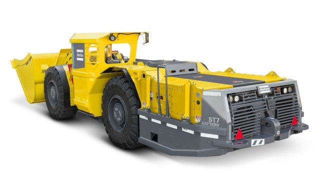 The new Scooptram ST7 Battery eliminates diesel emissions and minimizes the need for ventilation.