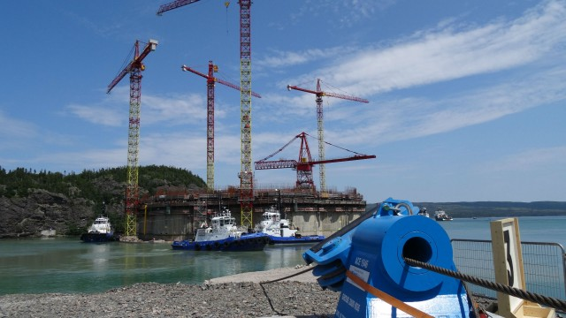 ACE Winches will provide service to the Hebron project.