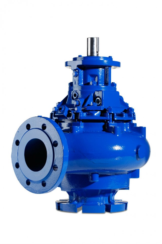 Hidrostal Screw Impeller Dry Pit Pump