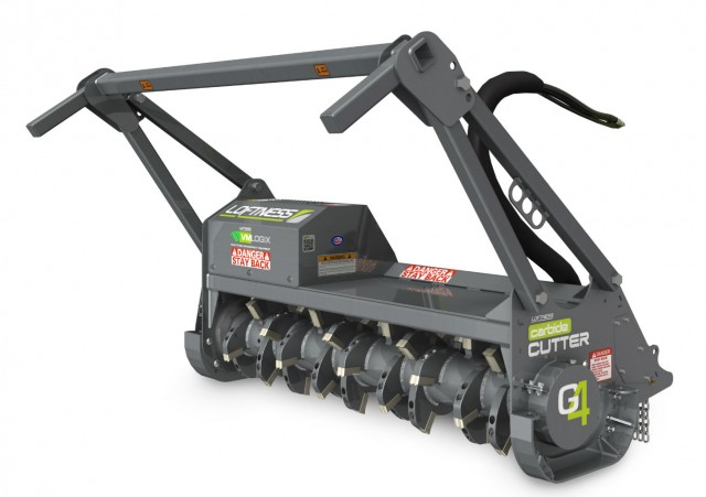 The G4 can attach to any skid steer thanks to a universal mount.