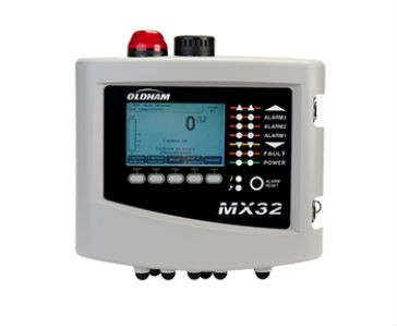 The MX 32 is a compact, low-profile controller that continuously monitors gas detection and more generally any 4-20 mA, MODBUS RS485 signal from compatible detectors.
