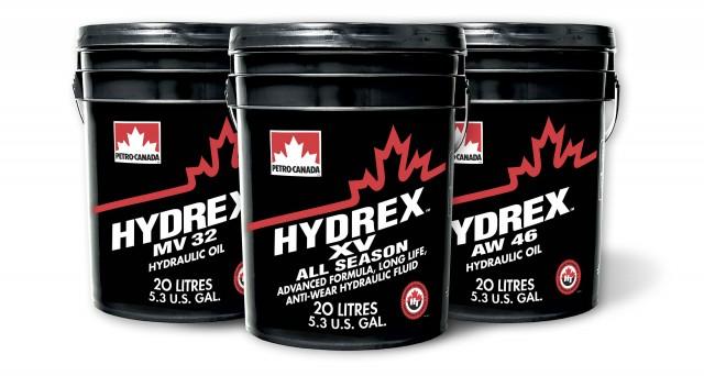 HYDREX hydraulic fluids.