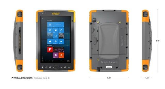 Mesa 2  Hazloc Rugged Tablet