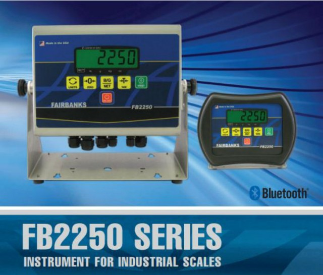 Fairbanks announces updates to FB2550 Advanced Scale Instruments