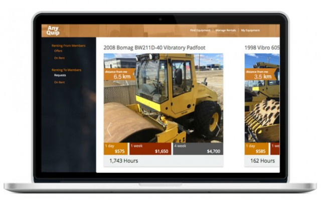 Looking to rent equipment? Find exactly what you need, closest to your job site