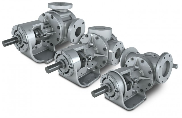 The G Series sealed internal gear pumps are available in cast iron, carbon steel and stainless steel materials.