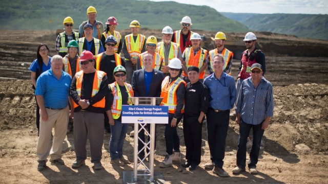 Site C is celebrating an employment milestone. More than 1,000 British Columbians are now on working on the clean energy project!