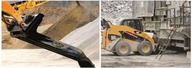 Berlon lineup of buckets are useful on construction sites, quarry and mining.