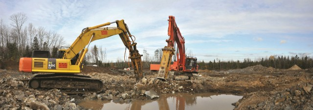 FDT includes Indeco breakers to construct the new campground-resort.