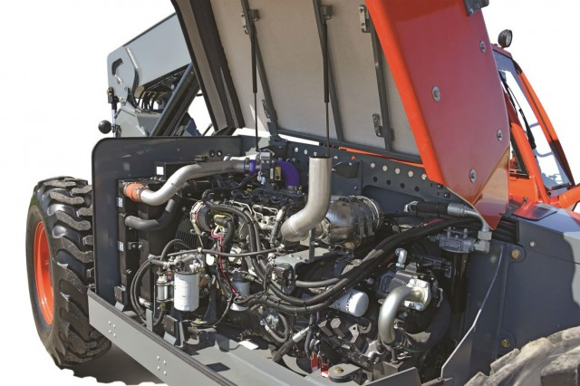DEUTZ's 74hp TCD engines are able to provide high levels of torque that compensate for their lower horsepower.