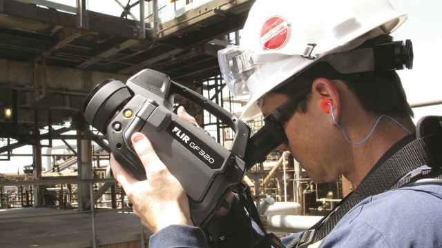 Seeking out potential gas leaks with optical gas imaging tools is becoming an alternative to traditional vapour analysis.