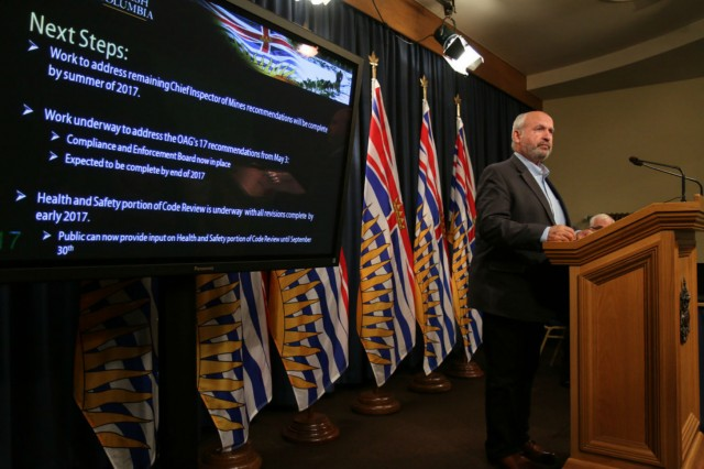Bill Bennett - B.C., Minister of Energy and Mines