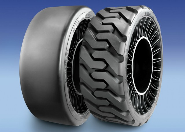 MICHELIN X TWEEL SSL Hard Surface and MICHELIN X TWEEL SSL All Terrain.