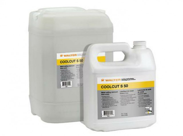 Coolcut S-50 soluble cutting fluid.