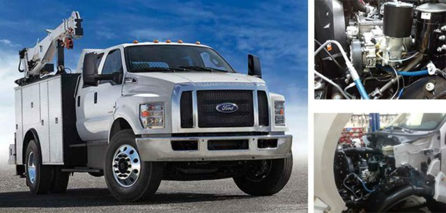 The UNDERHOOD is an ideal fit for the Ford F650 & F750 it improves fuel economy, helps stay under GVWR with a weight reduction and provides the continuous air power needed.