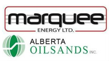 Marquee Energy and Alberta Oilsands announce strategic business combination