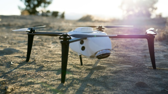"""The new Kespry Drone 2.0 weighs under 2 kilograms, which puts it in the """"Micro UAV"""" category."""