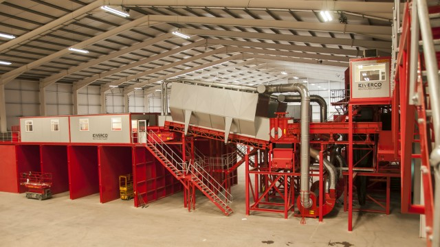 The plant has been designed to process up to 100,000 tonnes of mixed waste per annum, with the option to recover key products for recycling and to process the residual waste into an RDF product.