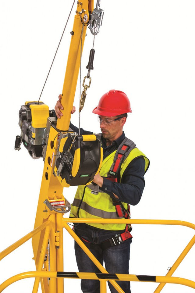 MSA XTIRPA is ideal for movement and access between various confined space entry points in the same area.
