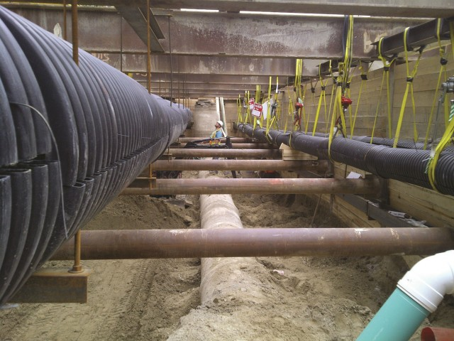 Utility coordination efforts on the TTC Union Station Expansion Project.
