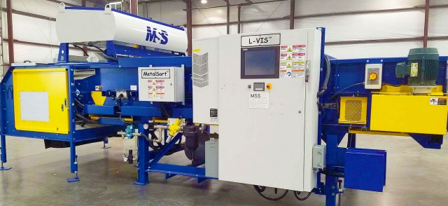 The new L-VIS optical sorter with updated ColorMask and WireHawk technologies.