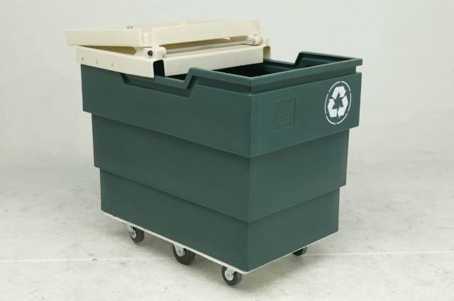 The 50P Series recycling carts in the Poly-Trux line earned the coveted front cover story in the 2016 Rotational Molders Ranking issue.