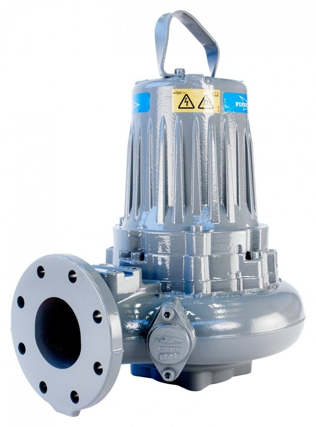 The Flygt 3000 series is a submersible centrifugal pump which covers flow capacities ranging from 0 to 3000 l/s and discharge heads from 5 to 130 m.