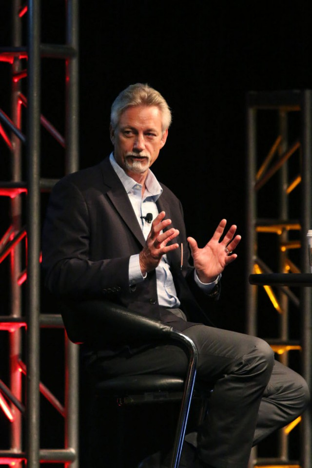 SIMS president Steve Skurnac was a keynote speaker at this year's E-Scrap 2016 conference, held in New Orleans, September 20-22.