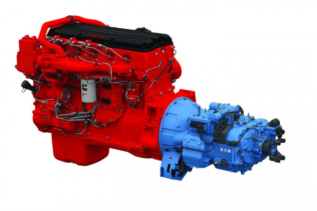 The SmartAdvantage powertrain is offered as a multi-torque model that is compatible with Cummins SmartTorque2 functionality available in ISX15 SA and X15 SA engines.