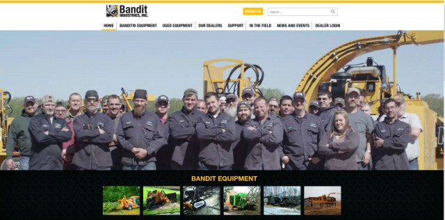 Bandit launches mobile-friendly website with new content and easy-to-navigate menus