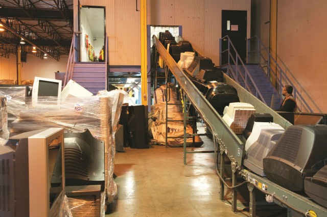 When EOLE is dropped off at an EPRA depot, it is transported to an audited and approved recycler for processing to ensure that it is recycled in a safe, secure and environmentally sound manner – and that it is not illegally exported.