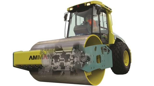 The Ammann ASC 150 Tier 4i Soil Compactor.