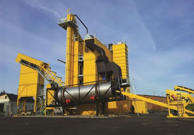 CSM 2500 Asphalt Mixing Plant