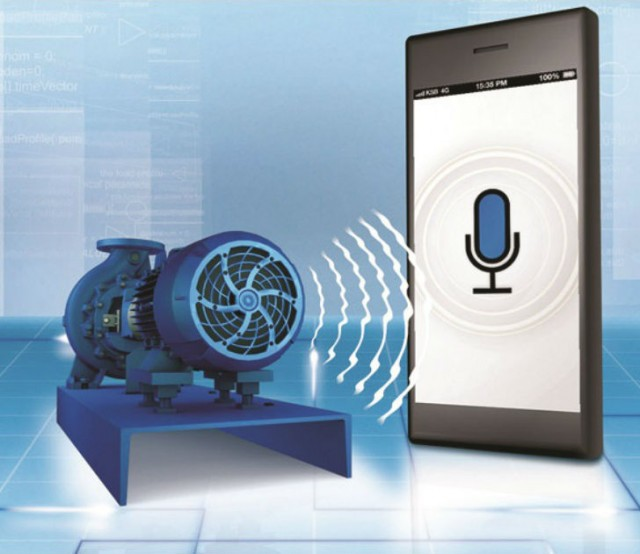 KSB Sonolyzer measures the noise frequency of the asynchronous motor and checks whether there are potential energy savings to be made, thus enabling an increase in pump efficiency.