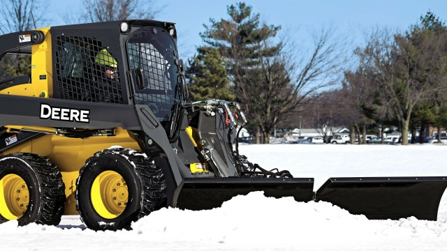 John Deere Snow Utility V-Blades comes in three new models BV6, BV8 and BV9.